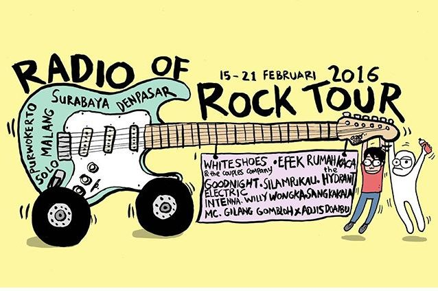 Radio of rock tour 2016 ruru